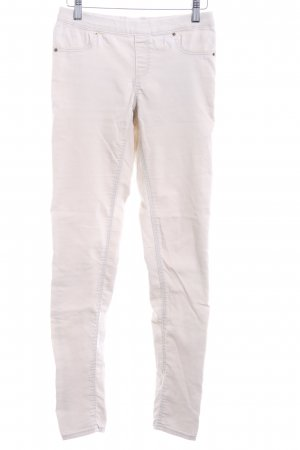 H&M Jeggings crema stile casual