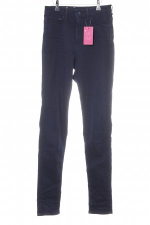 H&M Jeggings azul oscuro look casual