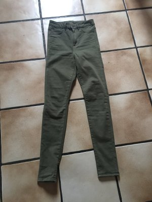 H&M Jeggings High Waist Khaki