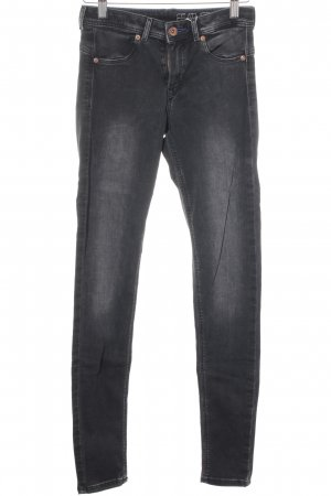 H&M Jeggings schwarz Street-Fashion-Look