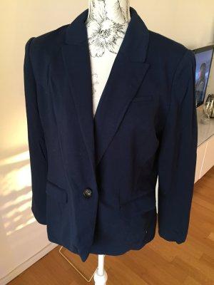 H&M Jersey Blazer dunkelblau Gr 44