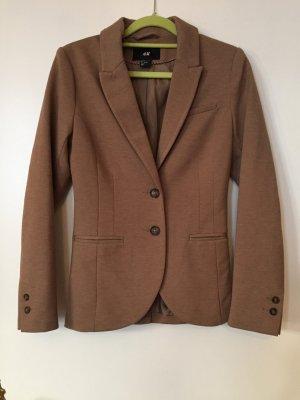 H&M Jersey Blazer, XS, braun