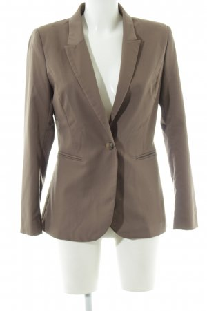 H&M Jersey Blazer marrón estilo «business»