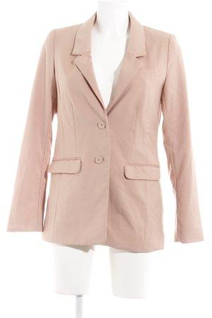 H&M Jersey Blazer rosa empolvado estilo «business»