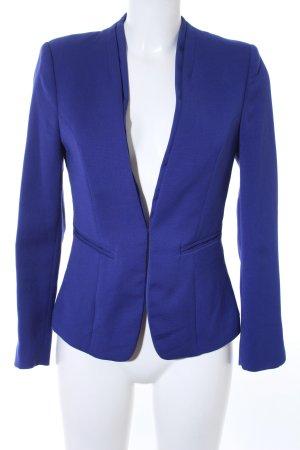 H&M Jerseyblazer blauviolett Business-Look