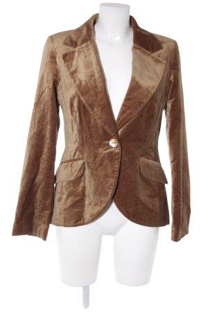 H&M Jerseyblazer bronzefarben Dandy-Look