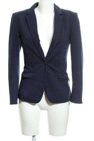 H&M Jersey Blazer dark blue business style