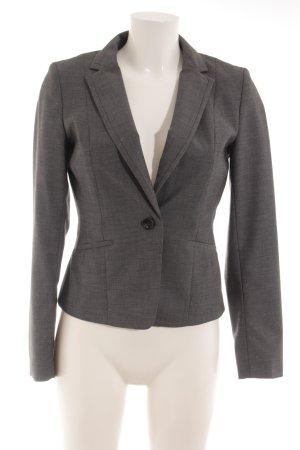 H&M Jerseyblazer dunkelgrau meliert Business-Look
