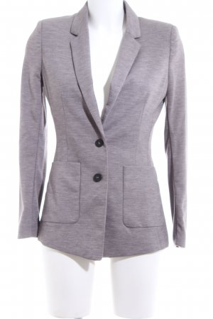 H&M Jersey Blazer lilac flecked casual look