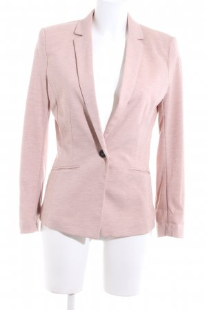 H&M Jersey Blazer pink flecked casual look