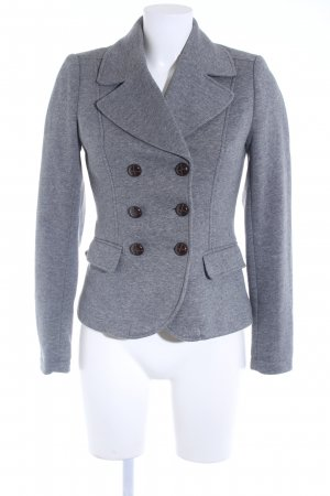 H&M Jerseyblazer grau Business-Look