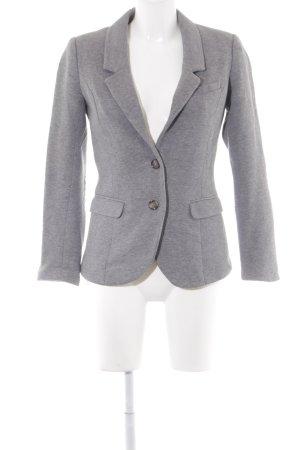 H&M Jerseyblazer grau Business-Look