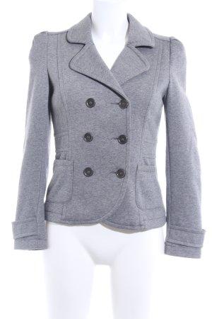 H&M Jerseyblazer grau Casual-Look