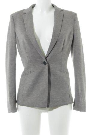 H&M Jerseyblazer grau meliert Casual-Look