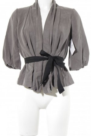 H&M Jerseyblazer grau Street-Fashion-Look