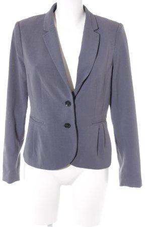 H&M Jerseyblazer graublau Business-Look