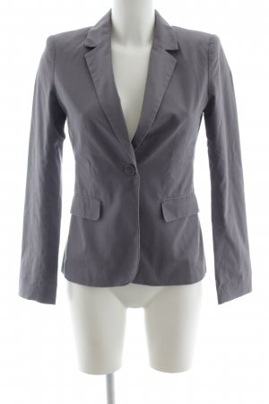 H&M Jerseyblazer graublau Casual-Look