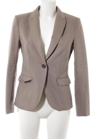 H&M Jerseyblazer graubraun Business-Look