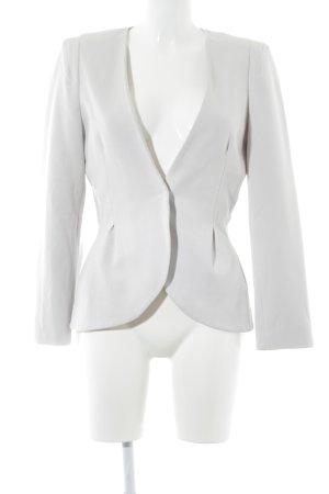H&M Jersey Blazer beige claro elegante