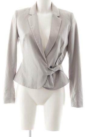H&M Jerseyblazer hellgrau Business-Look