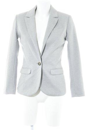 H&M Jerseyblazer hellgrau Casual-Look