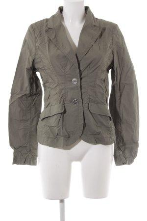 H&M Jersey Blazer caqui estilo safari