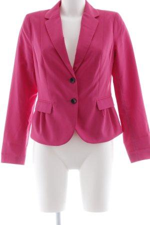 H&M Jerseyblazer magenta Business-Look