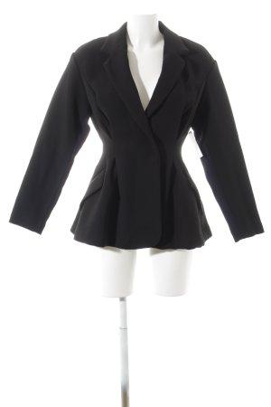 H&M Jerseyblazer schwarz Brit-Look