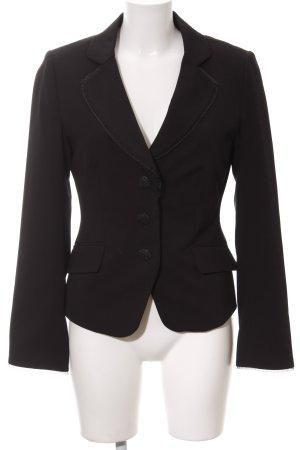 H&M Jersey Blazer black business style