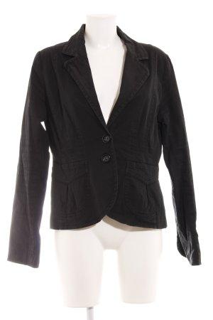 H&M Jerseyblazer schwarz Business-Look