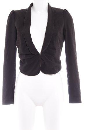 H&M Jersey blazer zwart elegant