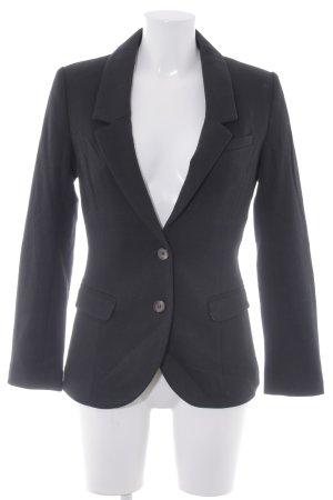 H&M Jerseyblazer schwarz-hellbraun Business-Look