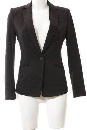 H&M Blazer in jersey nero stile classico
