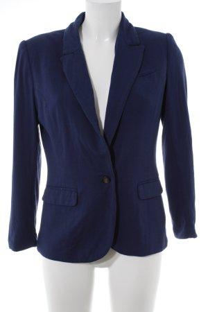 H&M Jerseyblazer stahlblau Business-Look