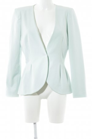 H&M Jersey Blazer turquesa elegante