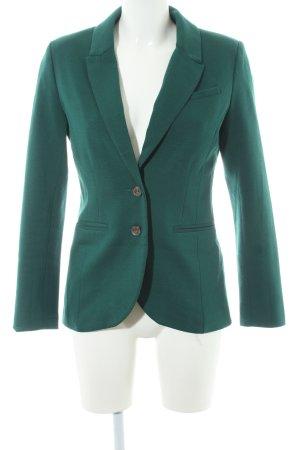 H&M Jersey blazer bos Groen zakelijke stijl