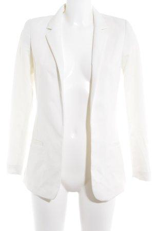 H&M Jersey Blazer blanco estilo «business»