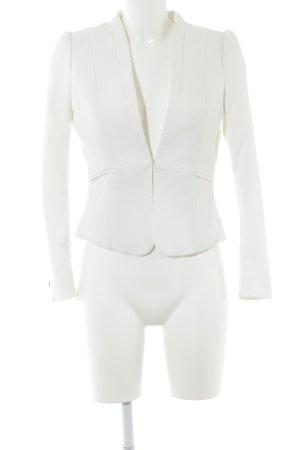 H&M Jerseyblazer weiß Business-Look