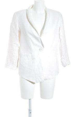 H&M Jerseyblazer wollweiß Elegant