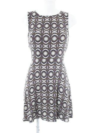H&M Jerseykleid abstrakter Druck Casual-Look
