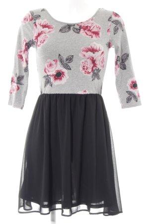 H&M Jerseykleid Blumenmuster Casual-Look