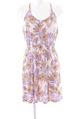 H&M Jerseykleid florales Muster Romantik-Look
