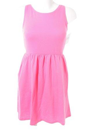 H&M Jerseykleid pink Casual-Look