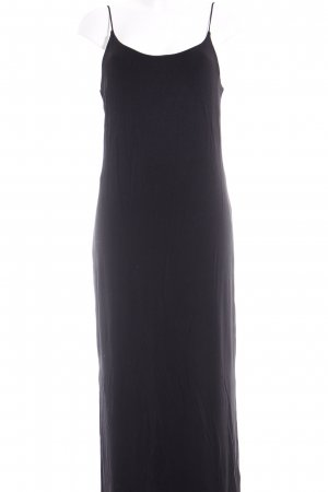 H&M Jerseykleid schwarz schlichter Stil