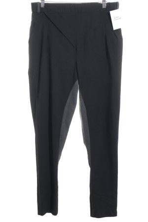 H&M Jodhpurhose schwarz-grau Brit-Look