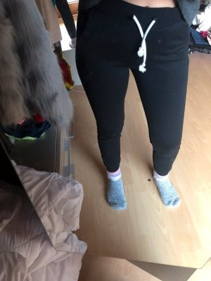 H&M Pantalone fitness nero