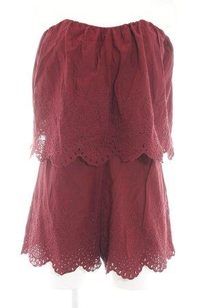 Style magnifique riche et magnifique gros remise H&M Combinaison rouge style décontracté