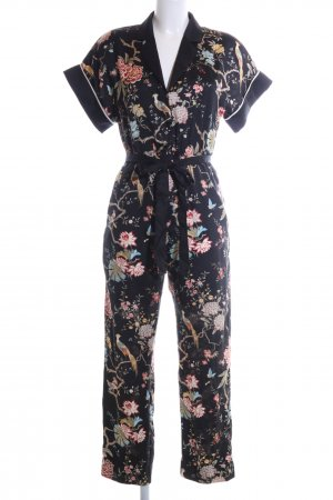 H&M Jumpsuit Allover-Druck Casual-Look