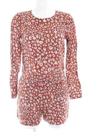 H&M Jumpsuit abstrakter Druck Casual-Look