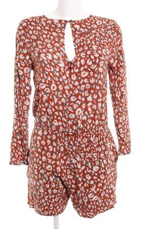 H&M Jumpsuit abstraktes Muster 80ies-Stil